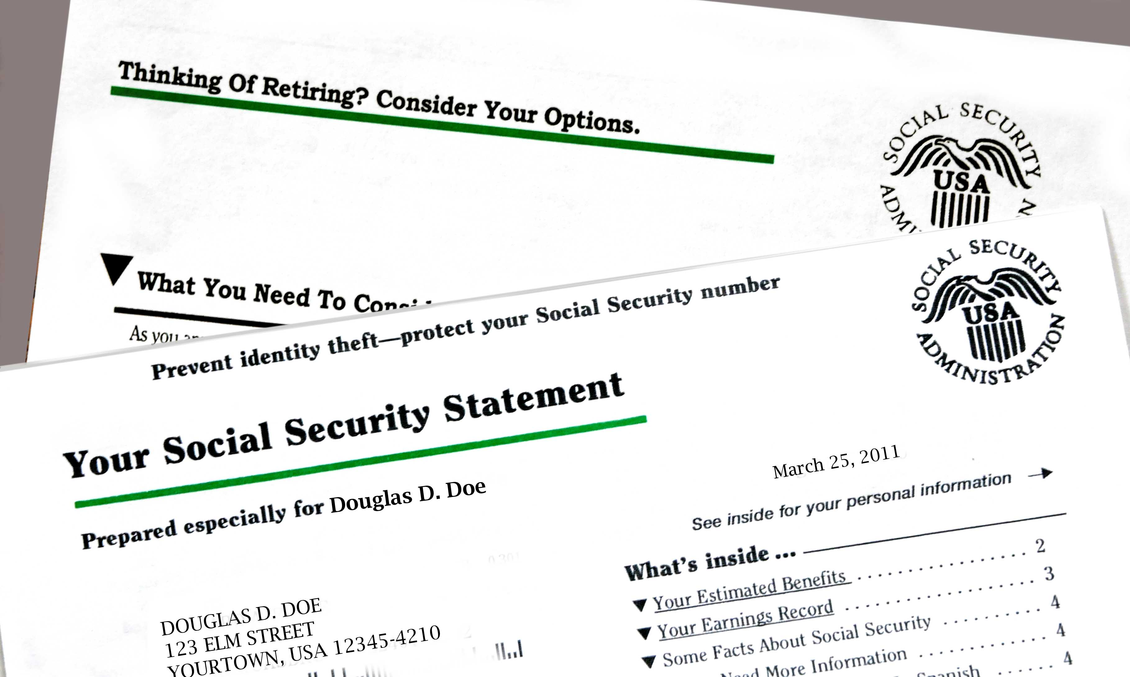 What is a Social Security benefit award letter?